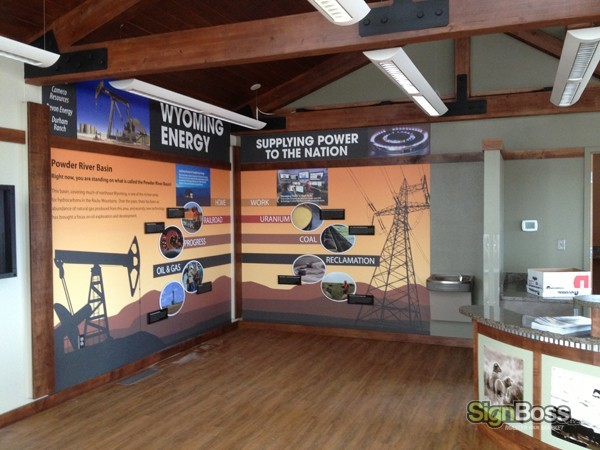 Wright Visitor Center - Wall Mural
