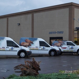 Bear's Naturally Dry Clean – Fleet Vehicles & Partial Wrap