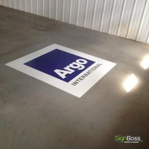 Large Floor Graphics