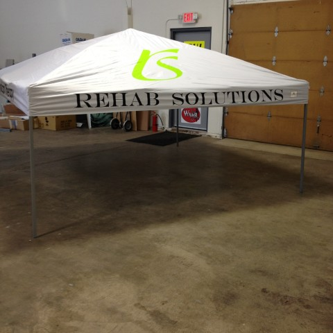 Rehab Solutions – Custom Tradeshow & Event Tent
