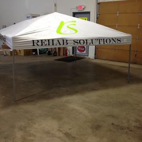 Rehab Solutions – Custom Tradeshow & Event Tent