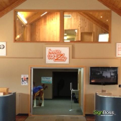 New Life Church – Layered Interior Signs