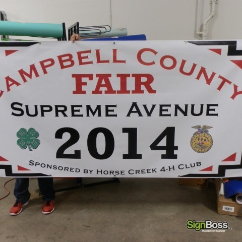 Campbell County Fair – Banner
