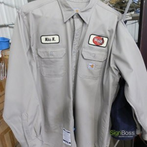 Walker Inspection – Embroidered Patches