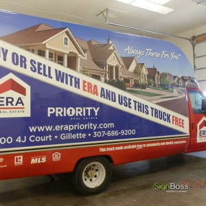 ERA Priority Real Estate – Car Wrap Revision