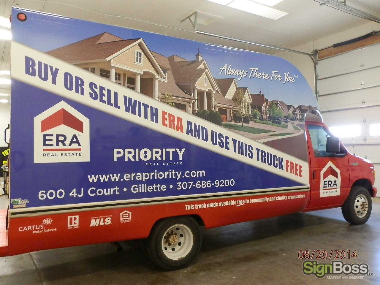 Car Real Estate: WRAPS & GRAPHICS
