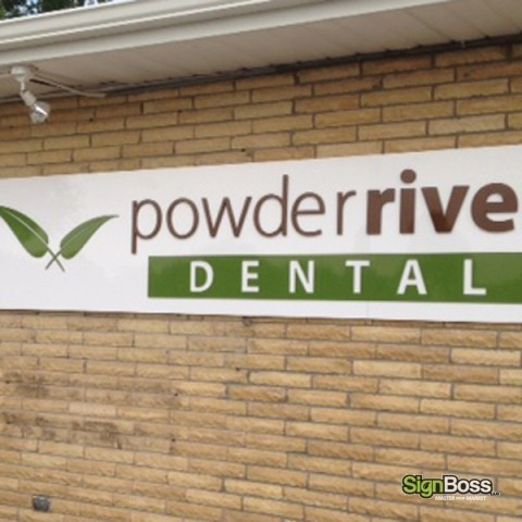 Dimensional Letters on Board
