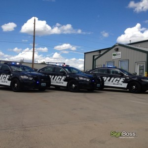 City of Gillette – Police Dept. Fleet Graphics
