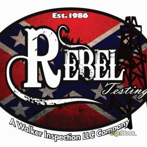 Walker Inspection – Rebel Testing Logo Design