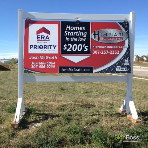 ERA Priority – Large Wood Frame Signs