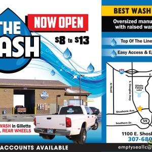 The Wash – Brochure Design