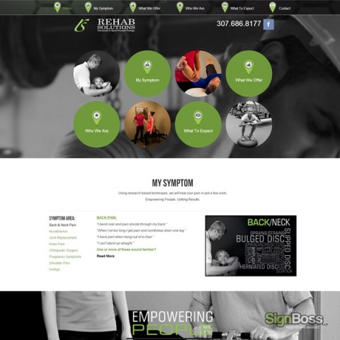 Rehab Solutions – Web Site Design