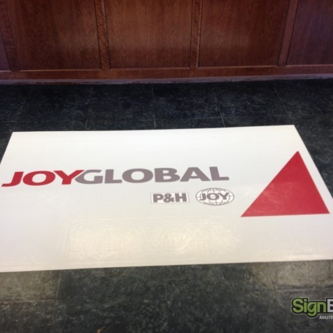 Joy Global – Lobby Floor Graphic