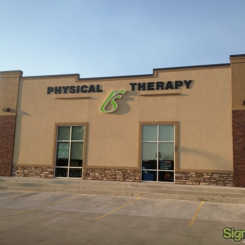Rehab Solutions – Dimensional Building Sign