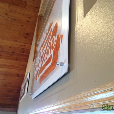 New Life Church – Layered Interior Sign