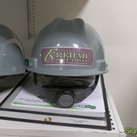Rehab Solutions – Hard Hat Stickers