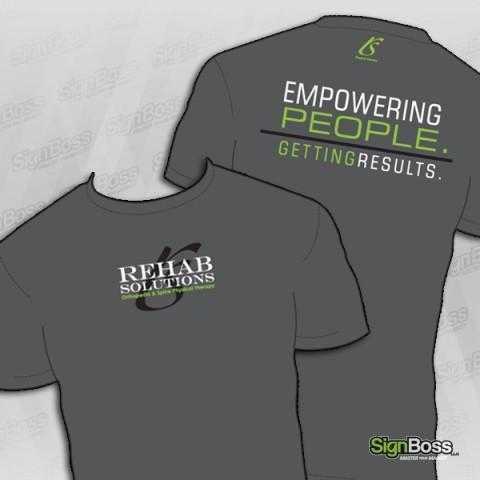 Rehab Solutions – Employee Shirts
