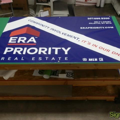 ERA Priority – 4'x6' Banner