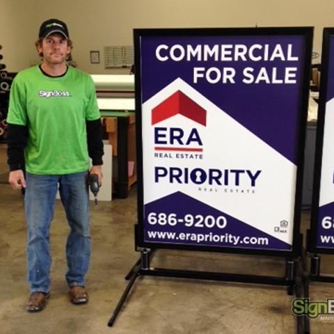 ERA Priority – Large Windmaster Sidewalk Signs