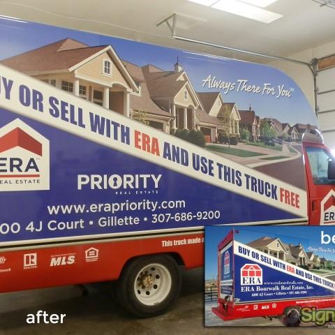 ERA Priority – Van Wrap