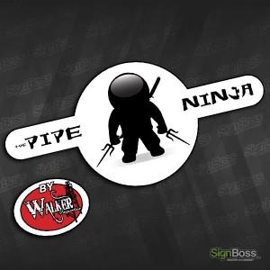 Walker Inspection – Pipe Ninja Sticker