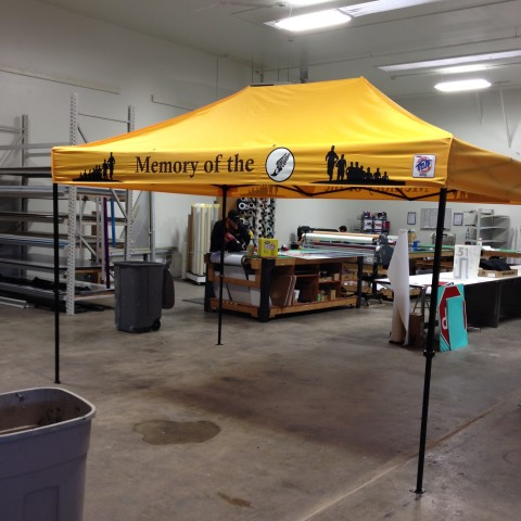 tradeshow tent in gillette wy