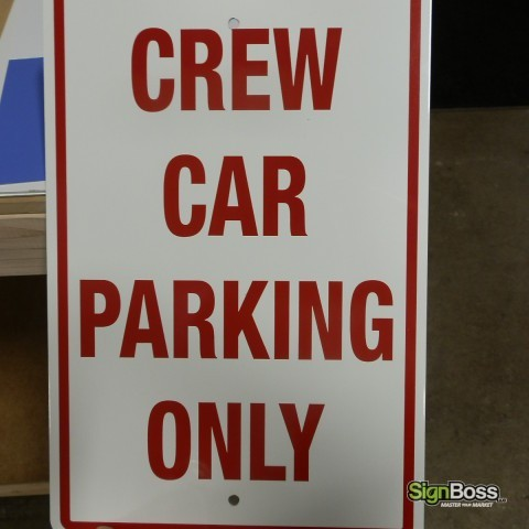 Reflective Parking Signs