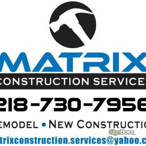 Matrix Construction – Logo Design