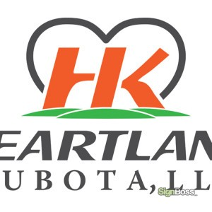 Heartland Kubota – Logo Design
