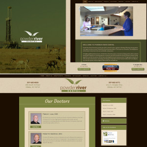 Power River Dental – Website Design
