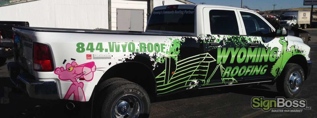 Vehicle Wraps in Gillette WY