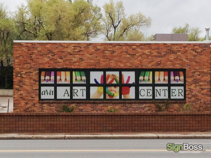 window graphics for businesses in Gillette WY