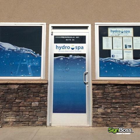 Window Graphics Signboss Llc Gillette Wyoming