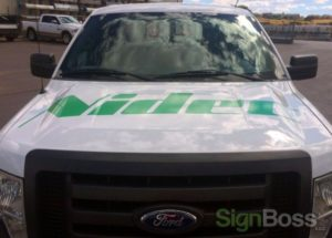 cut vinyl vehicle graphics in Gillette WY