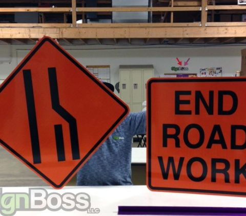 Reflective Safety Signs