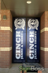 promotional and removable window graphics in Gillette WY