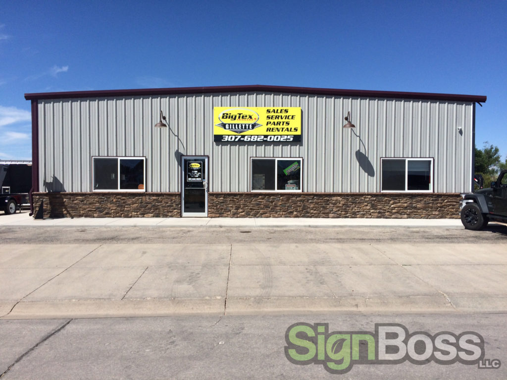 exterior signs in Gillette WY