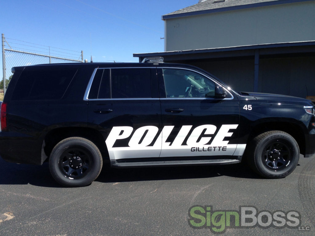 Thunder Basin Ford >> Check Out These Fleet Vehicle Graphics for Police ...