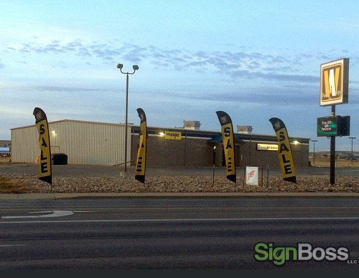 falcon flags in Gillette WY