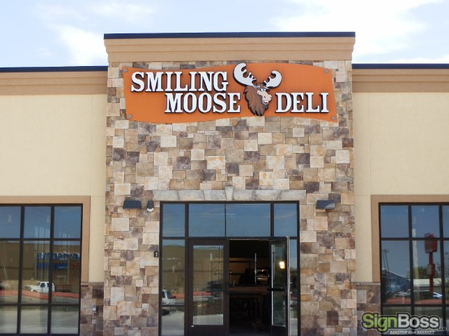 Dimensional Letter Building Signs in Gillette WY