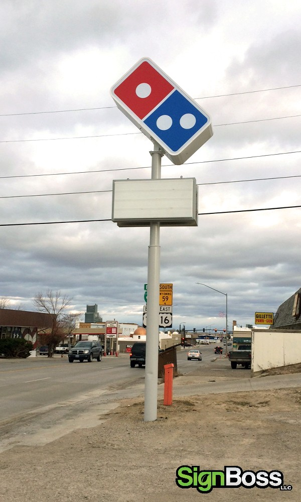 building signs for pizza restaurants in Gillette WY