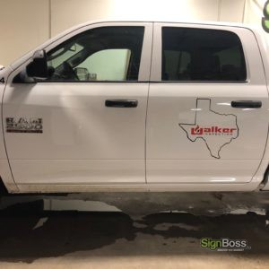 Walker Inspection – Truck Graphics