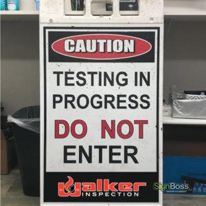 Walker Inspection – A-Frame