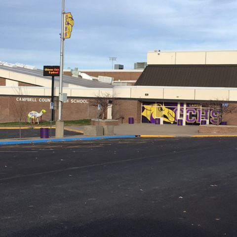 School Exterior Graphics Gillette WY