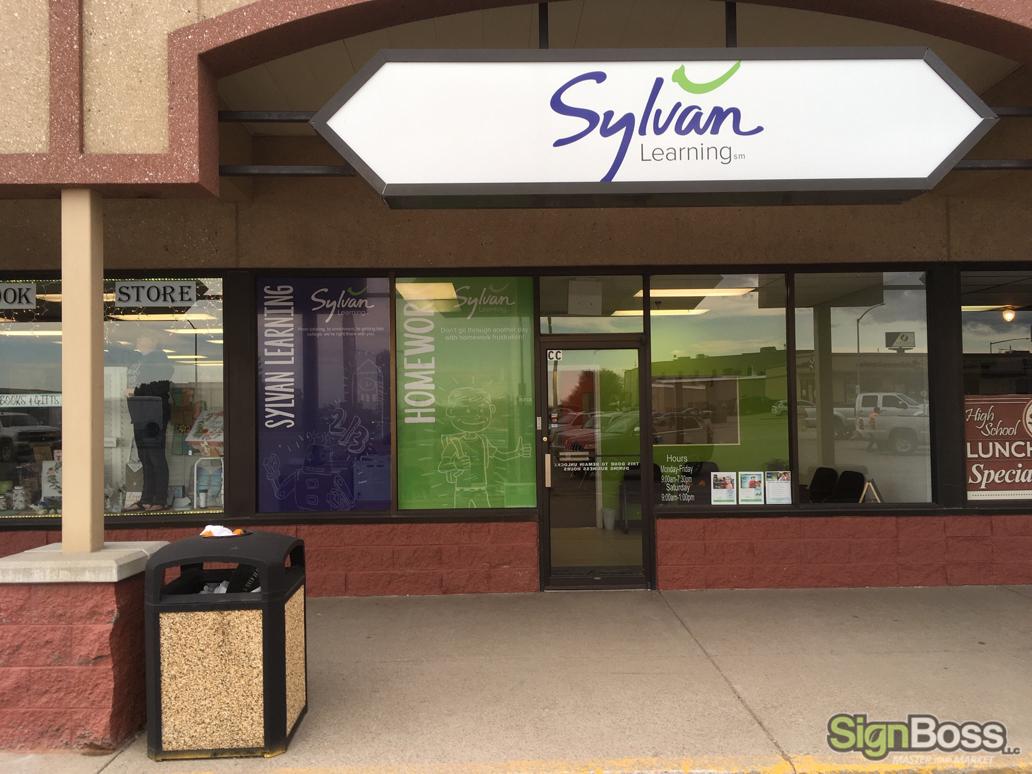 Cabinet Sign Facings in Gillette WY