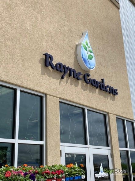 Channel Letter and Logo Box Cabinet Signs in Gillette WY