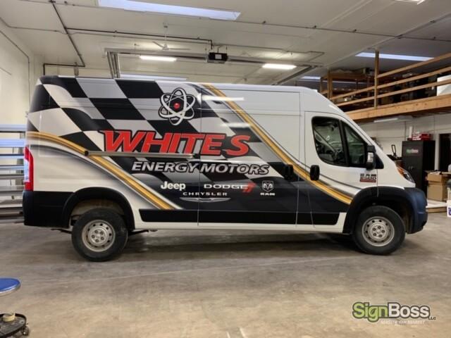 Dodge RAM Van Wraps in Gillette WY
