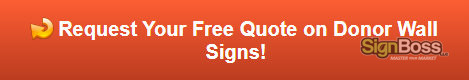Free quote on sponsor signs in Gillette WY