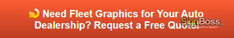 Free quote on auto dealership fleet graphics in Gillette WY