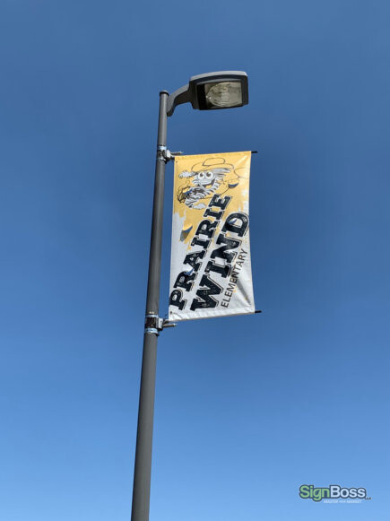 Vinyl Pole Banners in Gillette WY